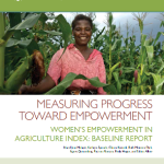 Measuring progress toward empowerment