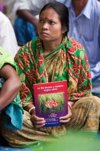 Bangladesh women farmer - learning