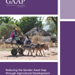 Reducing the gender asset gap through agricultural development