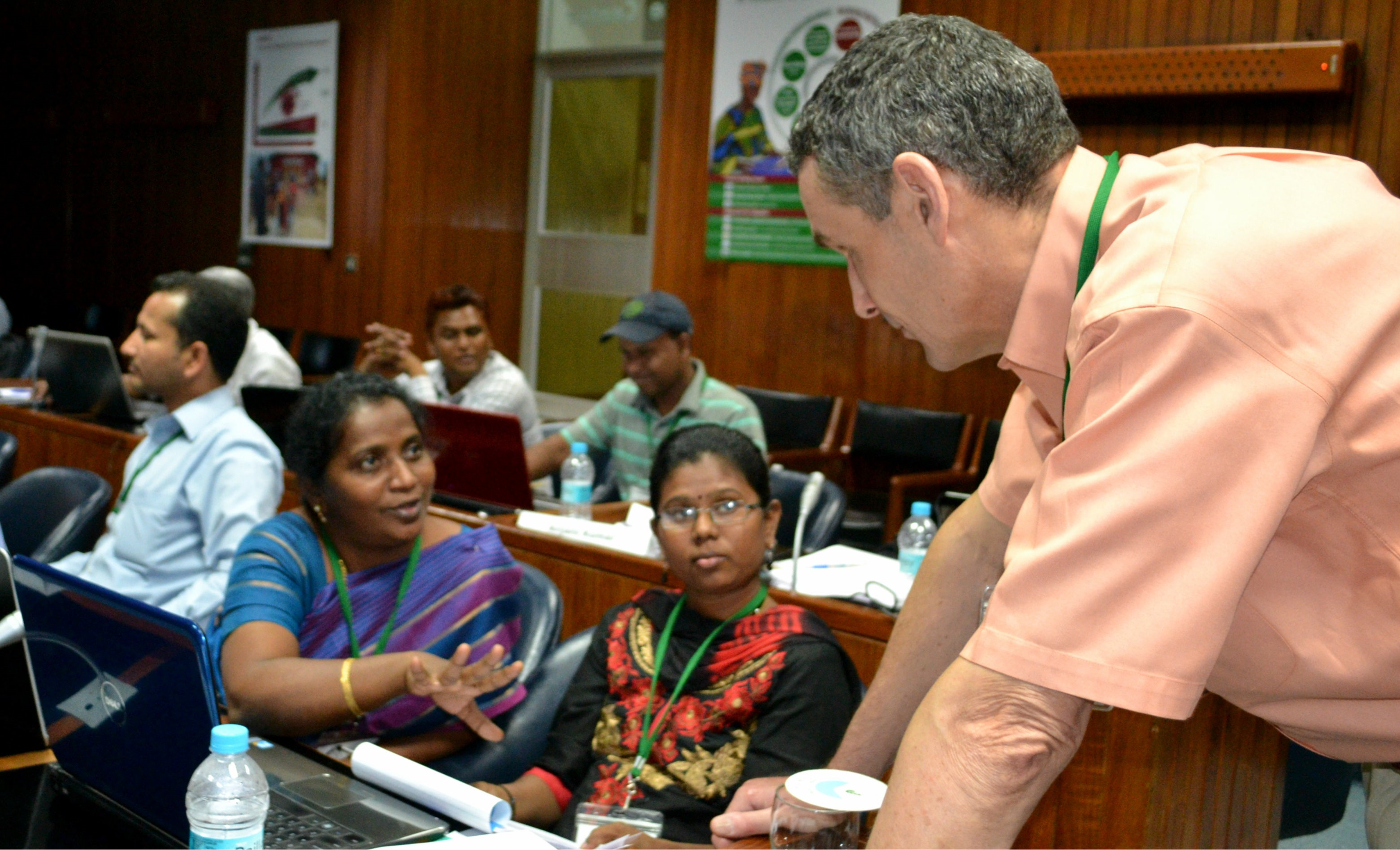 Crop System Models training at ICRISAT