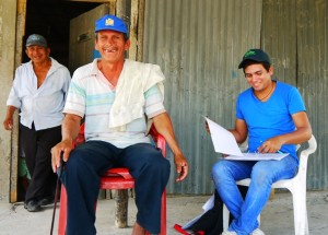 Male interviewee in Ecuador