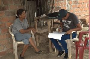 Female interviewee in Ecuador