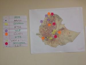CRP presence map