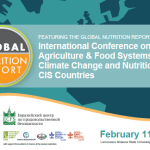 Conference: Agriculture and Food Systems, Climate Change and Nutrition in CIS Countries