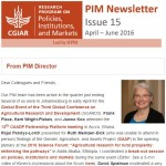 PIM Newsletter: April – June 2016