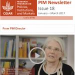 PIM Newsletter: January – March 2017