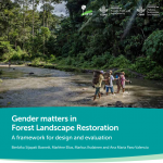 Gender matters in Forest Landscape Restoration: A framework for design and evaluation