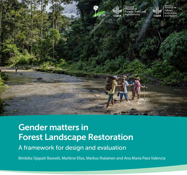 Gender matters in Forest Landscape Restoration: A framework for design and evaluation