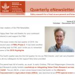 PIM Newsletter: October – December 2018