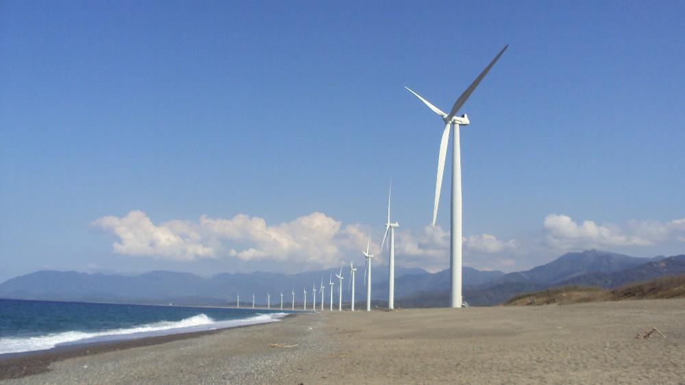 Bangui Windmills, Ilocos Norte, The Philippines. Photo credit: Paolo Dala