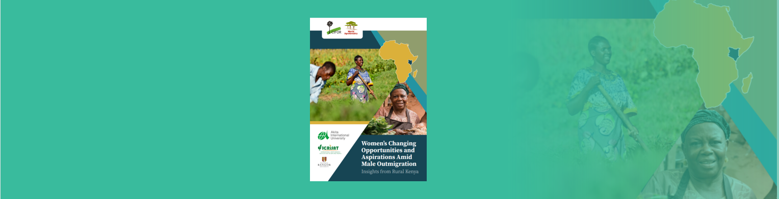 Women's changing opportunities and aspirations amid male outmigration: Insights from rural Kenya